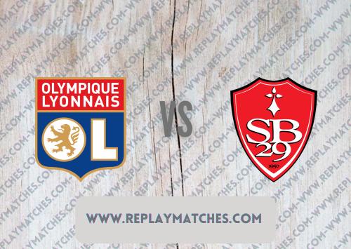 Lyon vs Brest -Highlights 07 August 2021