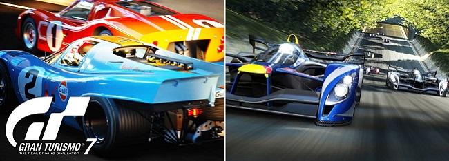 Comparison in Gran Turismo 7 vs Gran Turismo 6