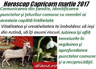 Horoscop martie 2017 Capricorn
