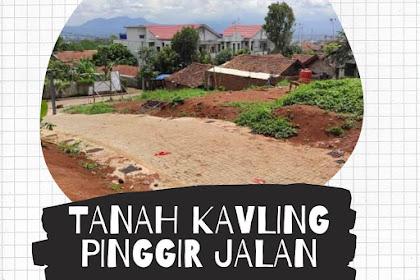 TANAH KAVLING PINGGIR JALAN AL JAWAMI CILEUNYI