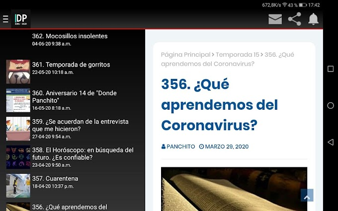 363. Noticias Panchito 18: APP y Radio Donde Panchito