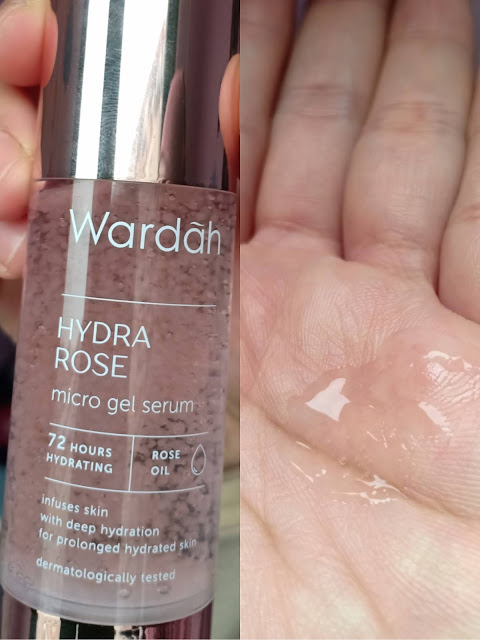 Review serum Wardah Hydra Rose