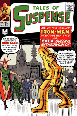 Tales of Suspense #43, Iron Man vs Kala, first appearance
