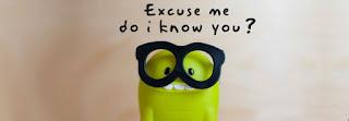 Excuse me do i know you