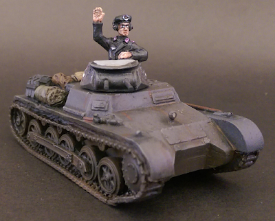 Warlord Games 1/56 28mm German Tank Crew Panzer Crew