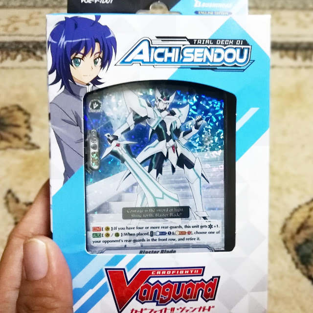 VANGUARD FIRST WAVE OF NEW ENGLISH EDITION CARDFIGHT