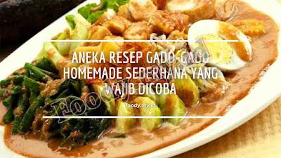 Resep Gado-gado, Resep Gado-gado Nusantara, Resep Gado-gado betawi, Resep Gado-gado khas jogja, Resep Gado-gado jawa tengah, masakan indonesia, masakan khas indonesia, kuliner indonesia, kuliner khas indonesia, resep masakan nusantara.