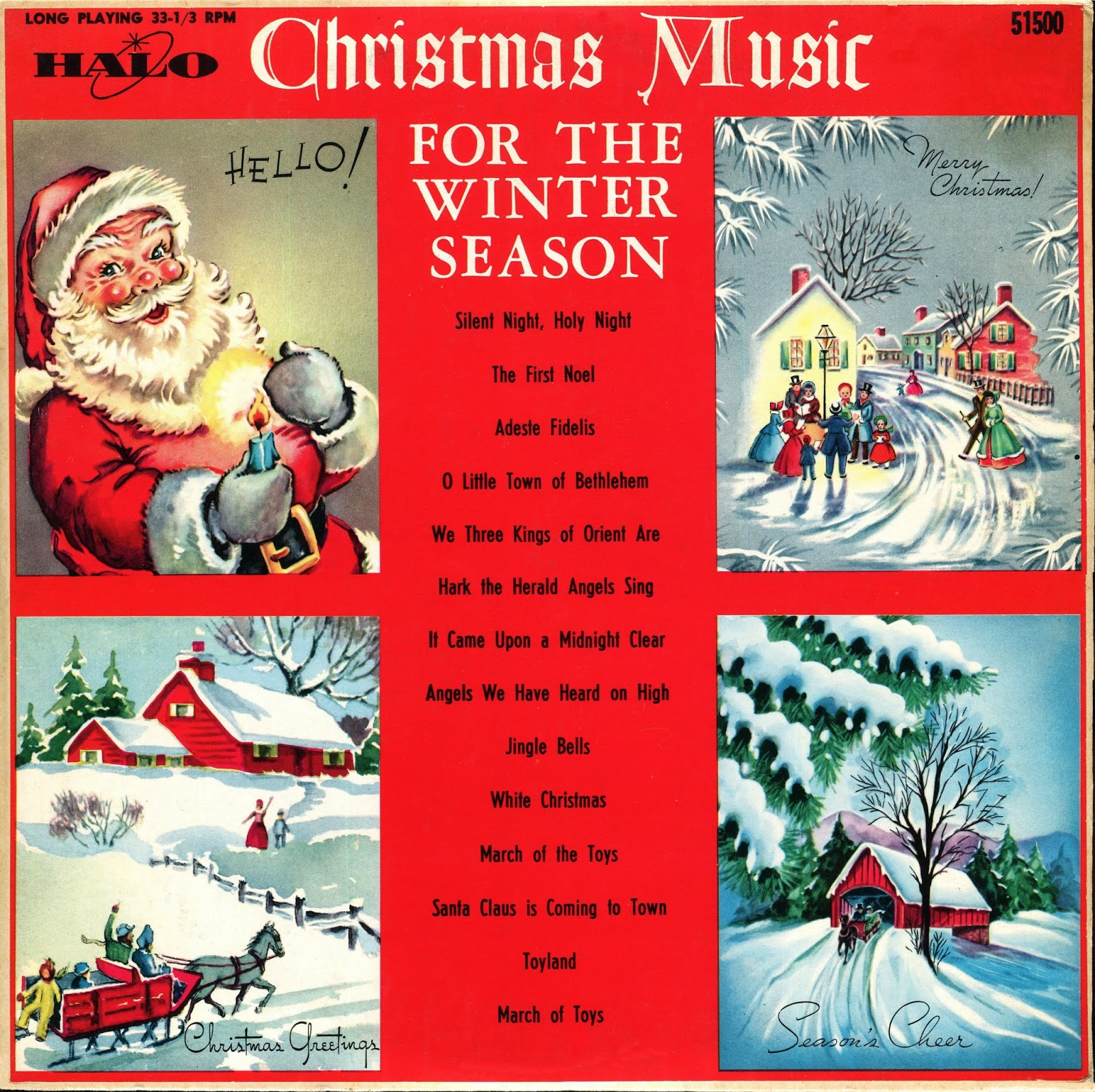Music You (Possibly) Won't Hear Anyplace Else: Christmas