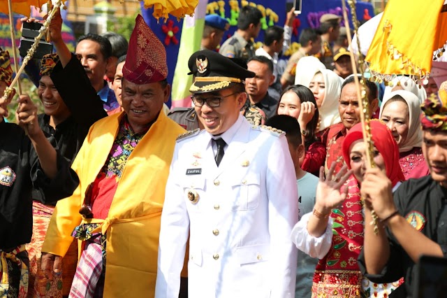 Pemkab Lampung Timur Menggelar Tasyakuran Pelantikan Bupati Zaiful Bokhari