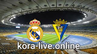 مباراة قادش وريال مدريد بث مباشر بتاريخ 21-04-2021 الدوري الاسباني