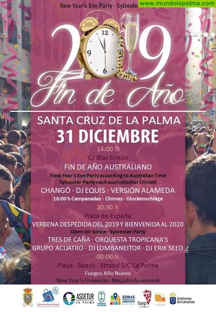 Fiesta de Fin de Año 2019 en Santa Cruz de La Palma