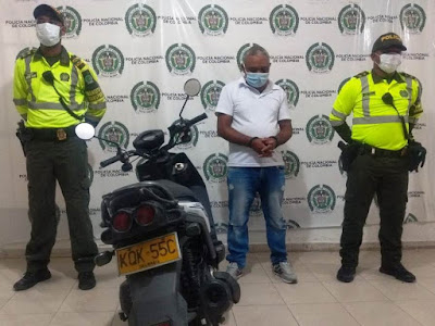 hoyennoticia.com, Le quitó la moto a una mujer en Valledupar