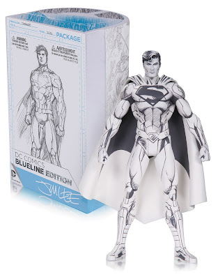 DC Comics Blueline Edition Jim Lee New 52 Superman Action Figure