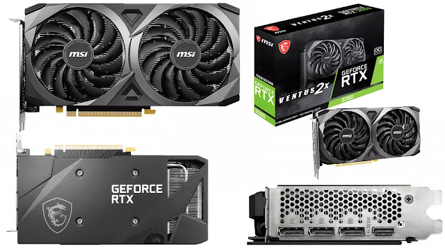 MSI-GeForce-RTX-3060-Ventus-2X-OC-12GB-Front-Top-Back-Side-Box-IO-View