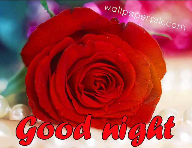 red  good night images wallpaper download
