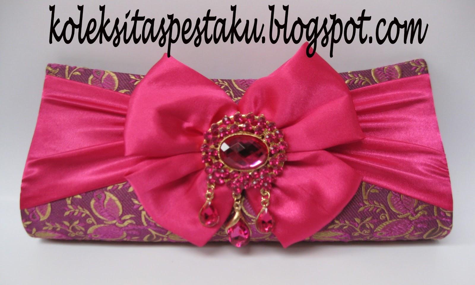 Shocking Pink Clutch Bag Cantik Koleksi Tas Pesta Ku dgn Harga Terjangkau  Murah (SOLD OUT) f251710f91