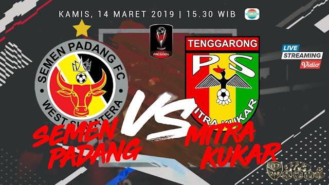 Prediksi Semen Padang Vs Mitra Kukar, Kamis 14 Maret 2019 Pukul 15.30 WIB @ Indosiar