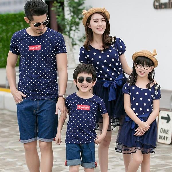 Áo đồng phục gia đình mẫu 9