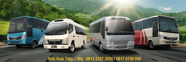 harga micro bus deluxe mitsubishi 2019, harga medium bus pariwisata 2019