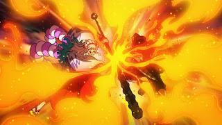 ワンピースアニメ ワノ国編   火拳のエース かっこいい   ONE PIECE Portgas D.Ace