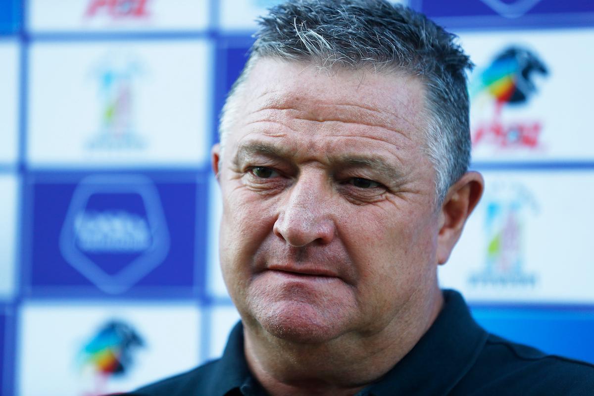 Gavin Hunt Head Coach of Kaizer Chiefs