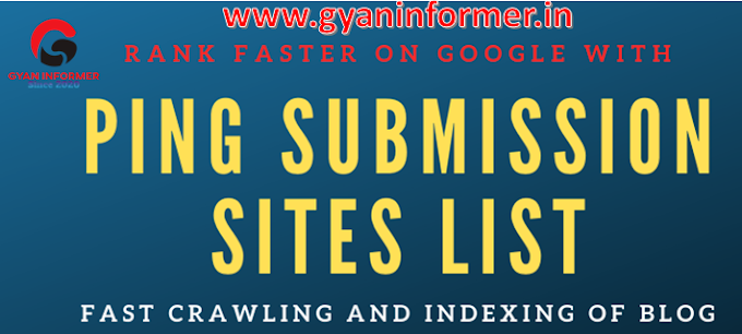 30 Best Ping Submission Sites List To Boost Your Indexing