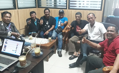 Ngopi Bareng, Sejumlah Wartawan Sepakat Dirikan FKWP Sumbar