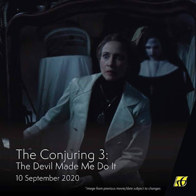 Filem Keluar Panggung Wayang 2020 | The Conjuring 3: The Devil Made Me Do It (2020)