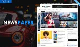 Newspaper9 Blogger Style Update Latest Version Template 2019 - Responsive Blogger Template