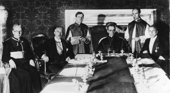 Reichskonkordat Germany Vatican Nazi church state law schism kirchensteuer
