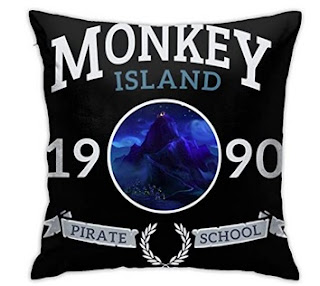 Funda de almohada Monkey Island