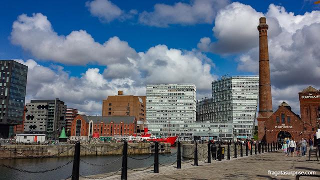 Waterfront de Liverpool