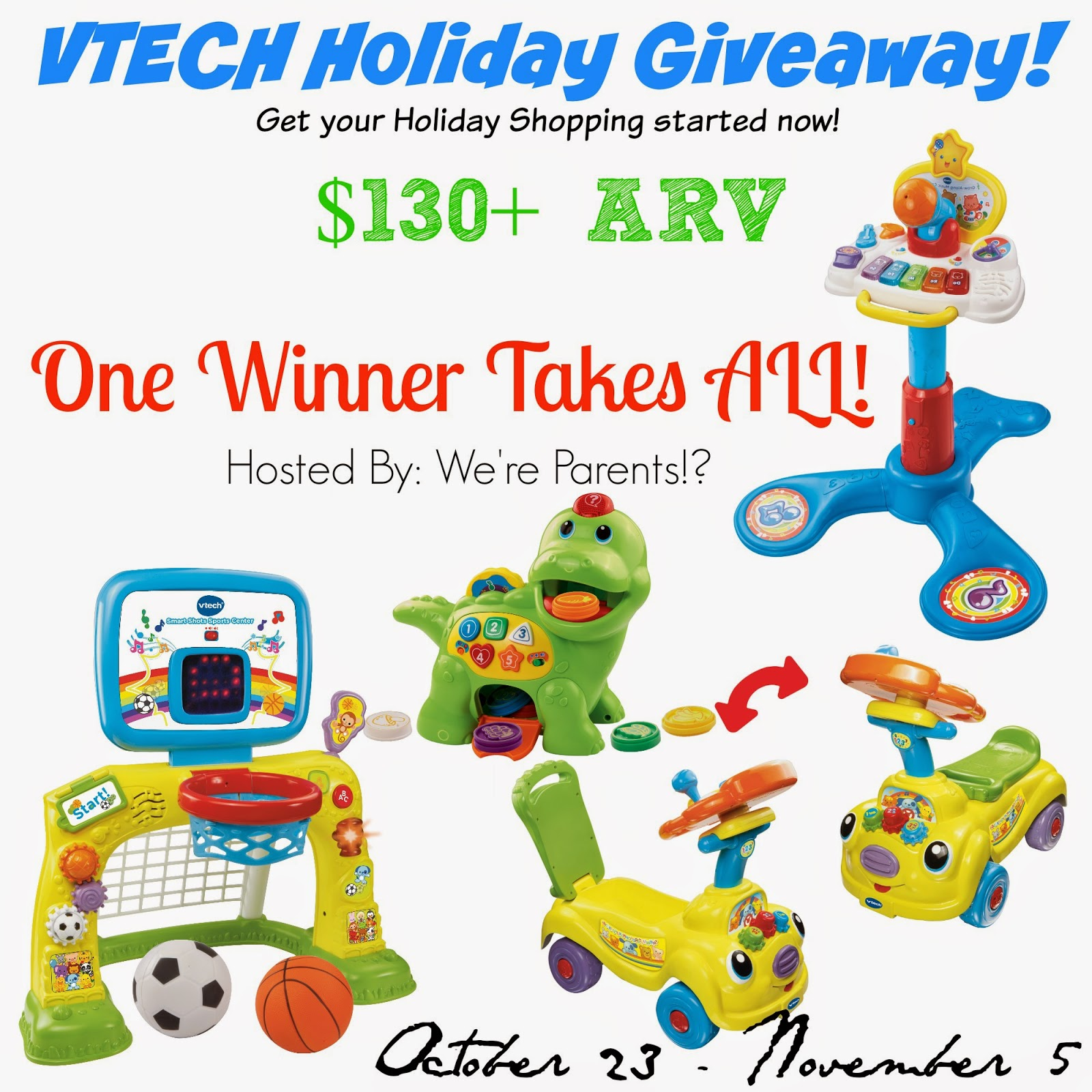 VTech Holiday Giveaway