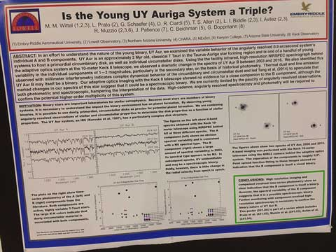Example poster presented at AAS meeting