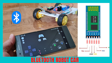 Bluetooth Robot Car