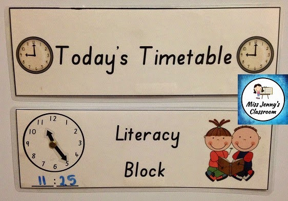 https://www.teacherspayteachers.com/Product/Timetable-Cards-with-Clock-945935
