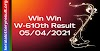 Win Win W 610 Lottery Result 5-4-2021