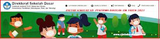 DAFTAR SEKOLAH SD  PENERIMA BANTUAN TIK TAHUN 2021