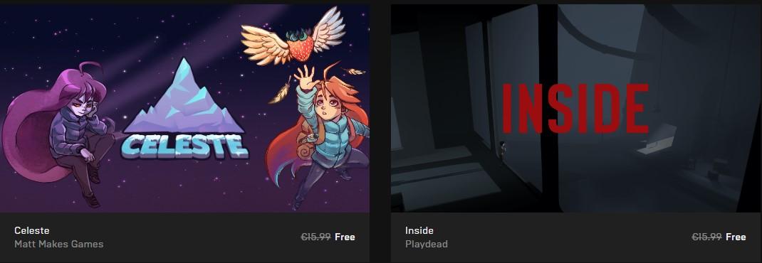 Δώρα από το Epic Games Store!!