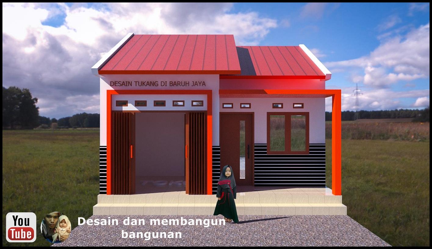 Desain Rumah Toko Minimalis Sederhana Ukuran 6 X 7 Desain rumah toko minimalis sederhana