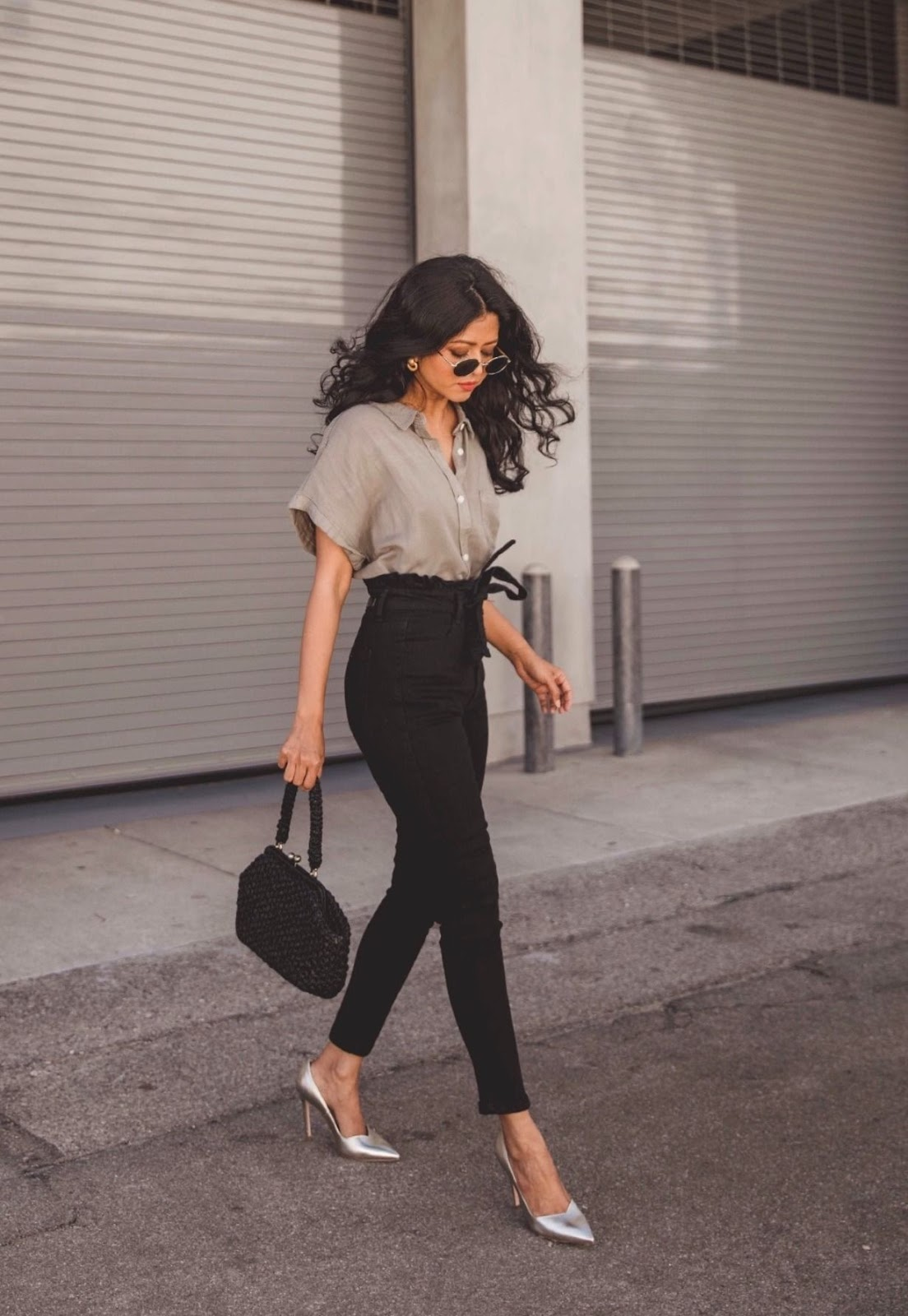 outfit oficina pantalon mujer