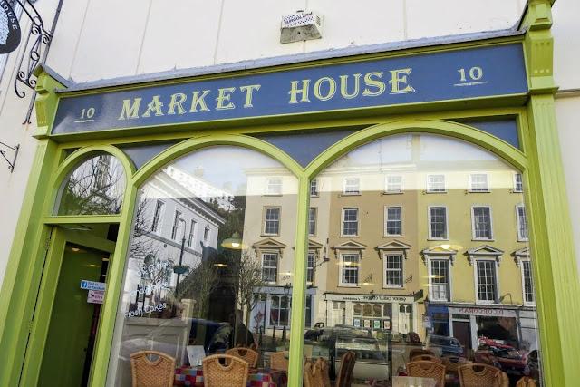 Cork to Cobh by train: Market House Facade