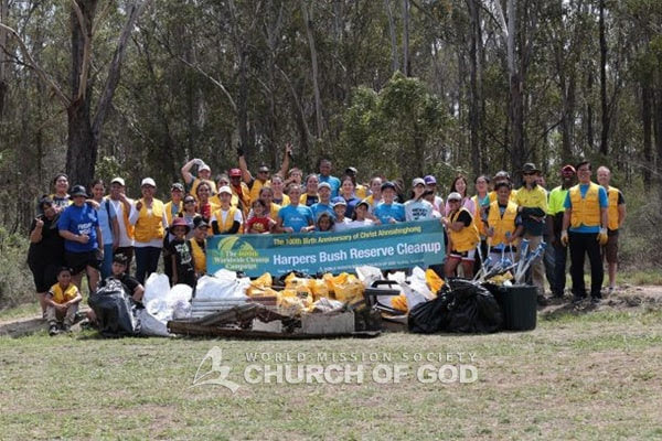 Cleanup Australia Day in Blacktown and Strathfield, NSW