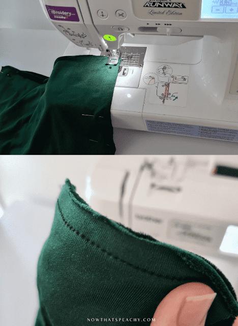 diy learn how to sew brief bikini festival fashion pants with stretch fabric tutorial