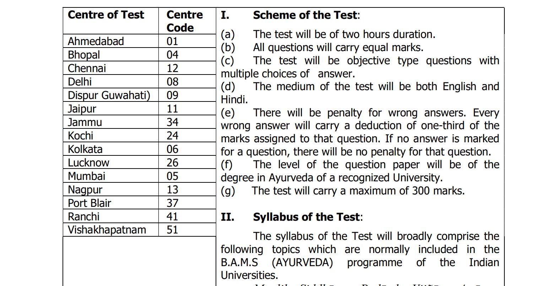 UPSC Medical Officer Exam Schedule