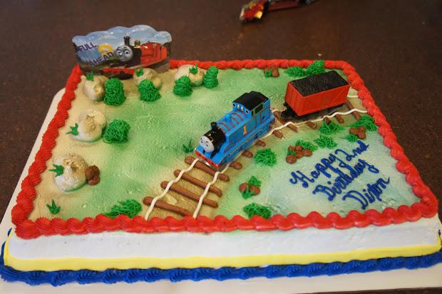 Thomas The Train Birthday Cakes Walmart