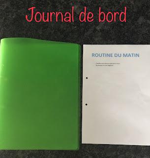 Journal de bord de la méthode FlyLady : routine du matin