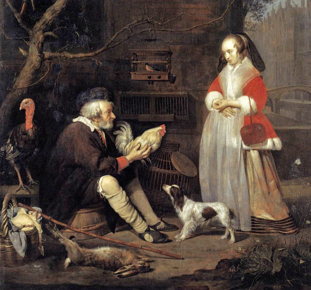 It's About Time: Birds at market & in the kitchen 1500-1800s