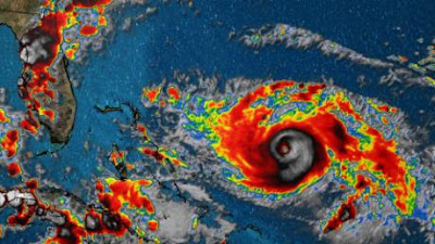 Hurricane Dorian approaches Bahamas and Florida