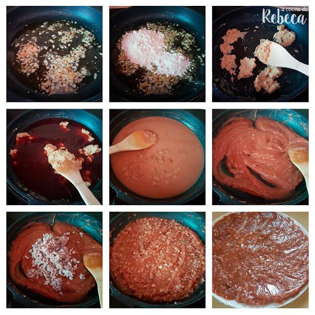 Receta de croquetas de pulpo: elaboración de la masa
